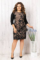 Женское нарядное платье 2 расцветки