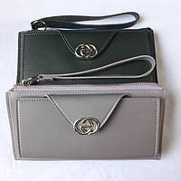 Женский кошелек на молнии с ремешком на руку, фото 1
