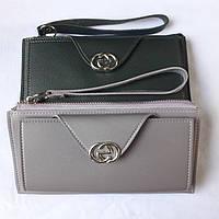 Жіночий гаманець на блискавці, з ремінцем на руку, фото 1