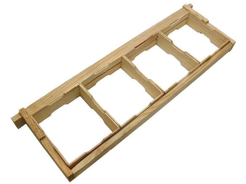 Комплект рамки для сотового меду 435Х145 по 4 шт.