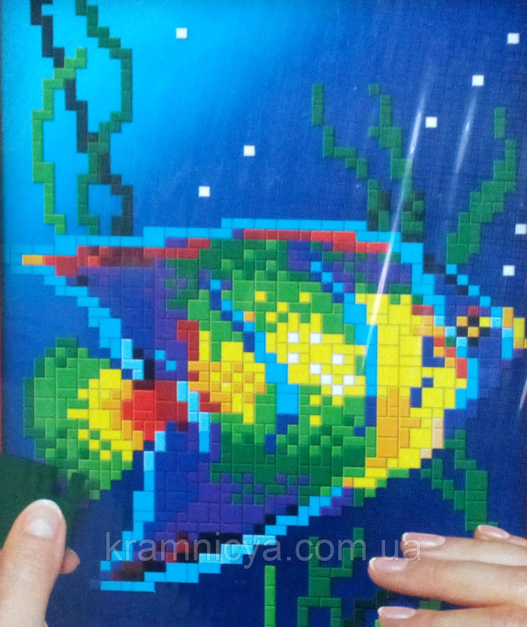 """Мягкая мозаика """"Рыбка"""", PM-01-09, 'Pixel'"""