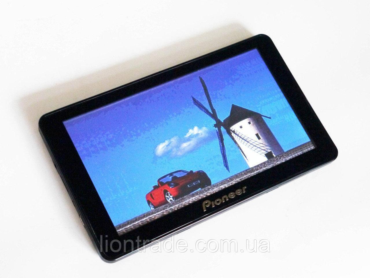 "7"" GPS навигатор Pioneer G718 - 8gb 800mhz 256mb IGO+Navitel+CityGuide"