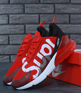 Женские кроссовки Nike Air Max 270 Red Supreme