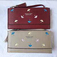 Женский кошелек на 2 молнии, фото 1