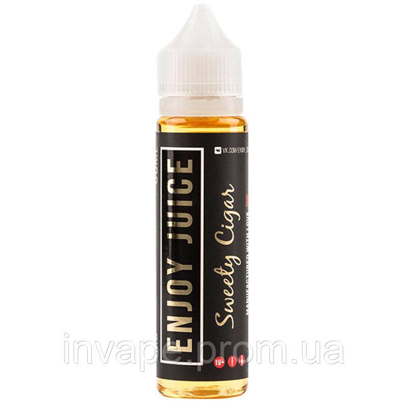 Жидкость для электронных сигарет Enjoy Juice - Sweety Cigar (Табак, орехи, ваниль) 60мл, 3 мг