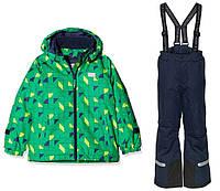 Зимний мембранный комбинезонLEGOWear(Дания) для мальчика 110, 116, 122, 128, 134 см раздельный зеленый