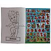Раскраска А4 16 страниц 100 наклеек, Щенячий патруль, фото 3
