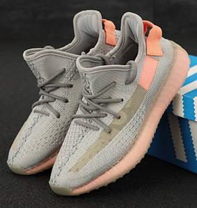 Женские кроссовки Adidas Yeezy Boost 350 Beige