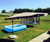 Пляжный зонт 3,5м садовый