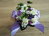 Браслет на руку из роз Flowers. Цвет сиреневый., фото 2