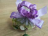 Браслет на руку из роз Flowers. Цвет сиреневый., фото 5