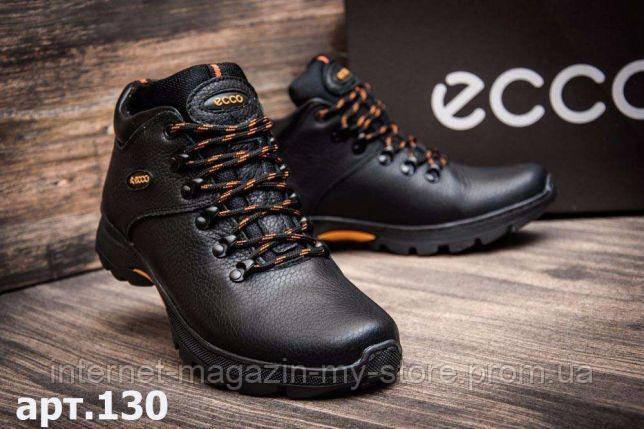 Мужские зимние кожаные ботинки Ecco  Infinity .Anser 130