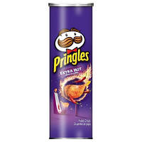 Чіпси Pringles Extra Hot Chili&Lime 158g