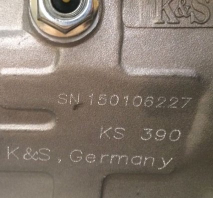 номер K&S BASIC KSB 3500C