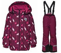 Зимний комбинезонLEGOWear(Дания) для девочки 116, 122, 128, 134, 140 см мембранный раздельный, фото 1