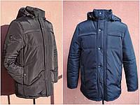 Мужская зимняя куртка классическая, большие размеры, фото 1