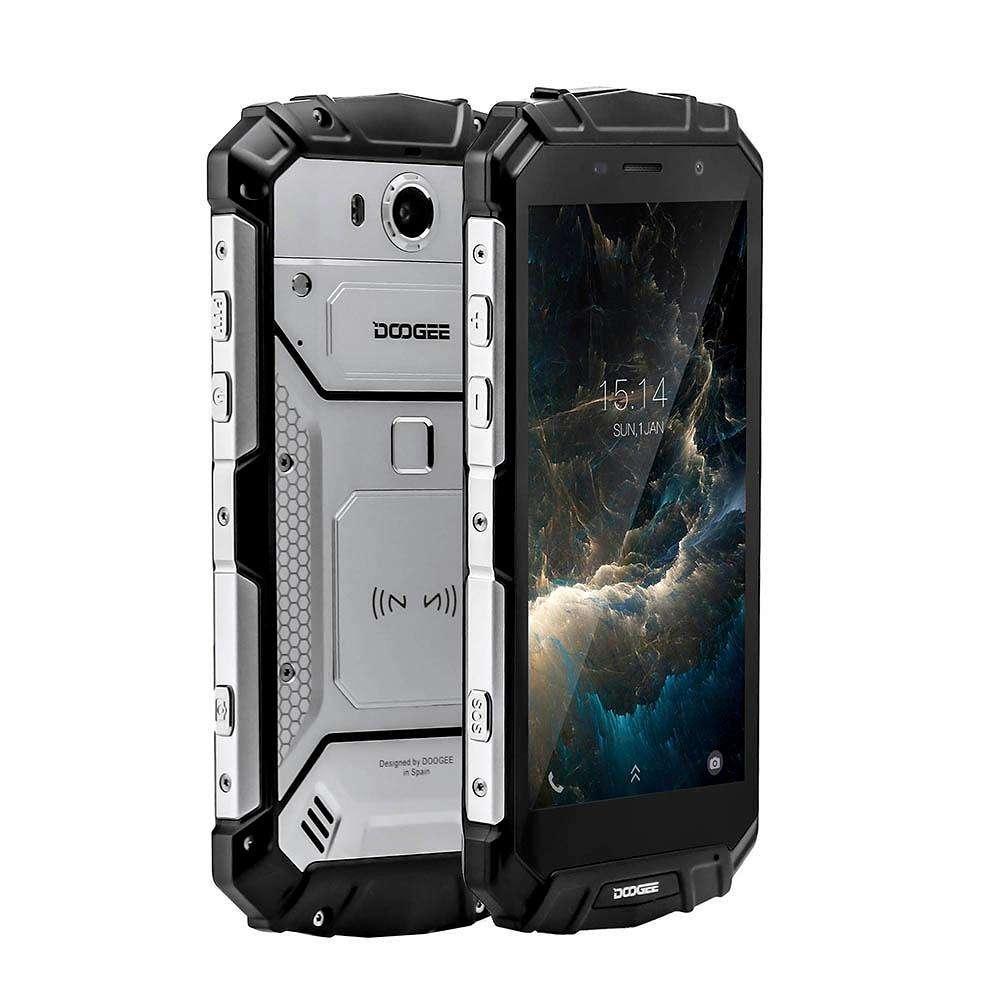 Защищенный мобильный телефон DOOGEE S60 silver  4+32 GB