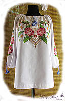 Индивидуальный пошив женской вышиванки.