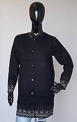 Кардиган молодежный с накладными карманами на кнопках