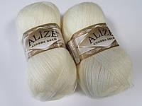 ANGORA GOLD 62 молочный - 20% шерсть, 80% акрил