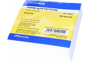 Бумага для заметок Economix 85*85 мм 400 листов E20941