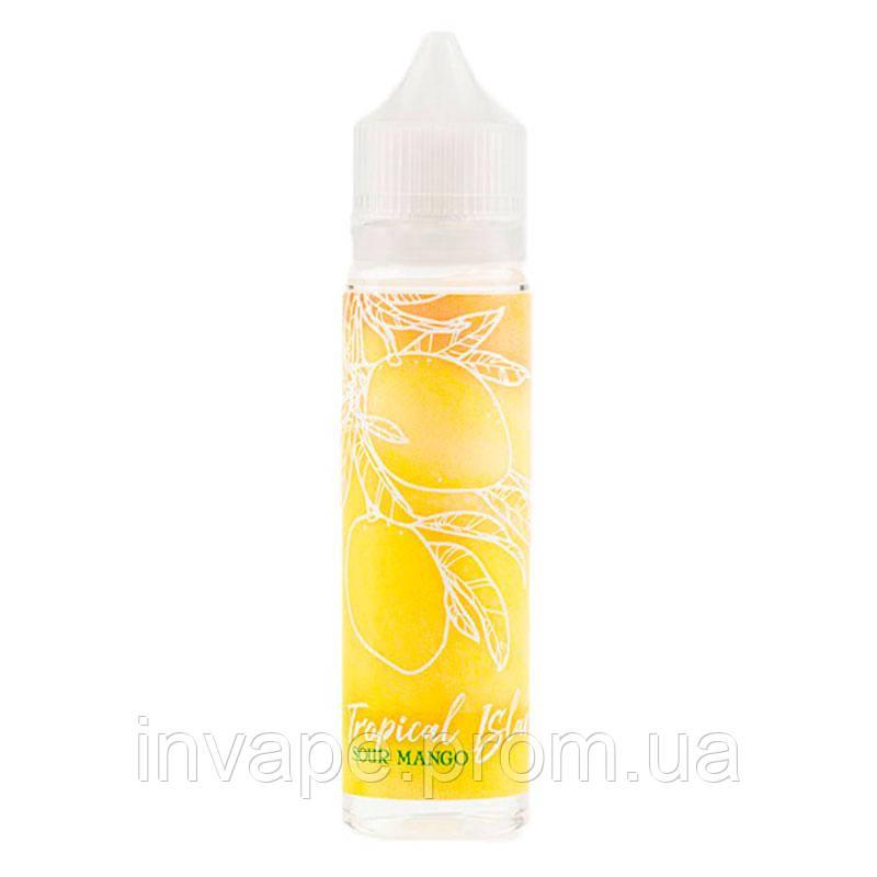 Жидкость для электронных сигарет Tropical Island - Sour Mango (Манго с кислинкой) 60мл, 1.5 мг
