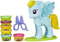 Игровой набор с пони Стильный салон Рейнбоу Дэш Play-Doh Hasbro (Май литл пони), фото 1