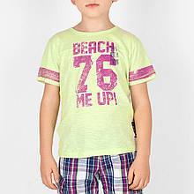 Детская футболка для мальчика BRUMS Италия 141BFFN017 Зеленый
