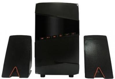 Акустическая система, колонки Greenwave SA-160BT Black-orange