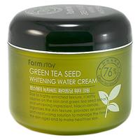 Осветляющий крем с зеленым чаем, Farmstay Green Tea Seed Whitening Water Cream, 100 мл