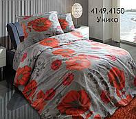 Постельное белье двуспальный размер Унико наволочки 70/70 ТМ Блакіт