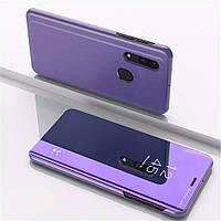 Чехол Mirror для Samsung Galaxy A30 2019 / A305 книжка зеркальный Purple