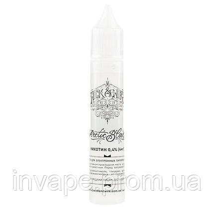 Жидкость для электронных сигарет Wick&Wire - Arctic Black (Смородина, ежевика, ментол) 30мл, 4 мг, фото 2