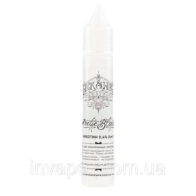 Жидкость для электронных сигарет Wick&Wire - Arctic Black (Смородина, ежевика, ментол) 30мл, 4 мг