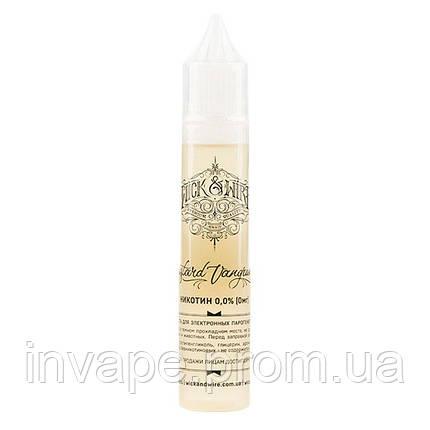 Жидкость для электронных сигарет Wick&Wire - Custard Vanguard (Персик, абрикос, заварной крем) 30мл, 0 мг, фото 2