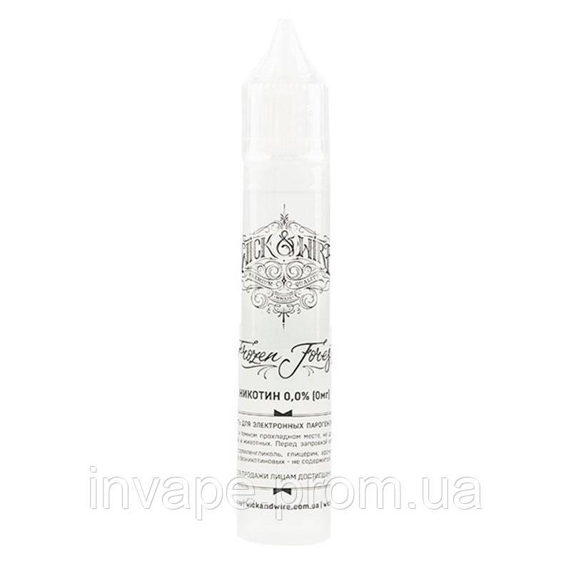 Жидкость для электронных сигарет Wick&Wire - Frozen Forest (Лесные ягоды, мята) 30мл, 0 мг