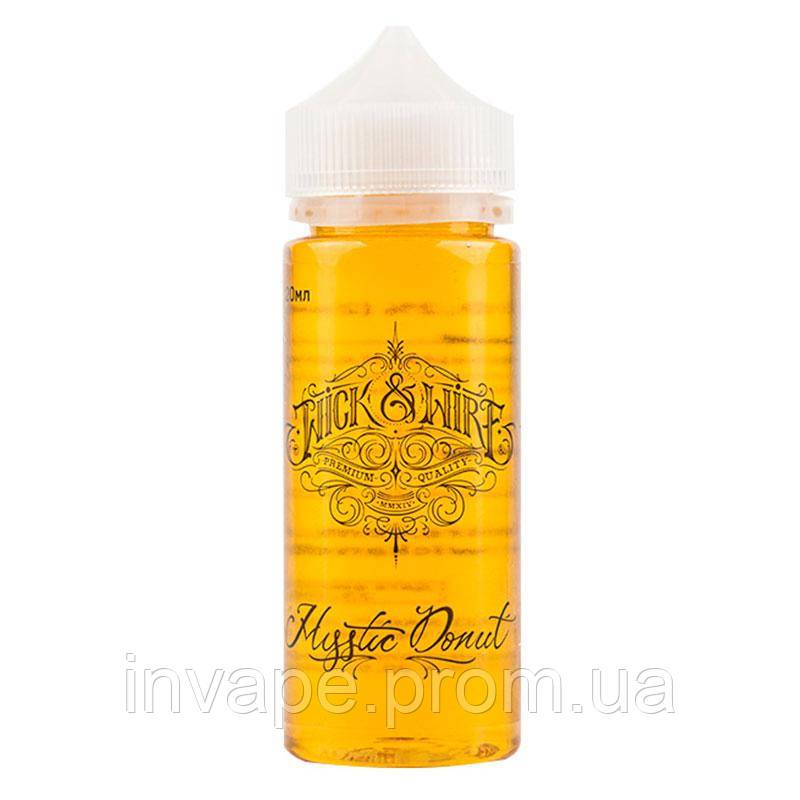 Жидкость для электронных сигарет Wick&Wire - Mystic Donut (Пончик, миндальная крошка) 100мл, 2 мг