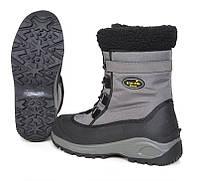 Зимние ботинки norfin snow gray, утепленные