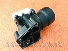 Корпус масляного фильтра новый на Seat 1.6 TDi (2010-), Altea, Ibiza, Leon, Toledo, скрышкой и фильтром