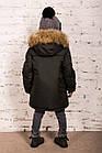 Теплая зимняя курточка для мальчиков - сезон 2019 - (модель КТ-640), фото 4