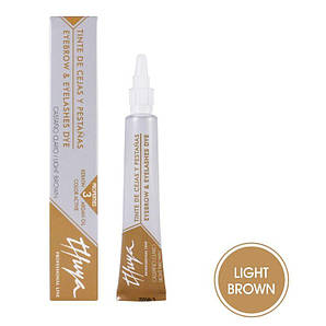 Фарба Thuya світло-коричнева для вій і брів 14 мл