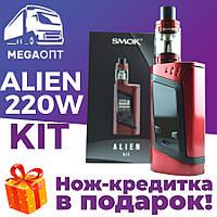 Электронная сигарета Smok Alien 220W, электронка, вейп, vape набор,