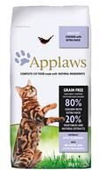 Applaws Chicken with Duck беззерновой корм для кошек + пробиотик 2