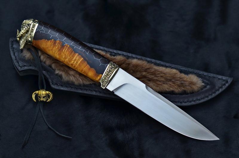 """Нож охотничий ручной работы """"Viking"""", M390"""