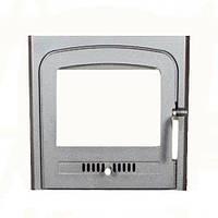 Чугунная дверца для печи Koza K7 370x460 с рамкой