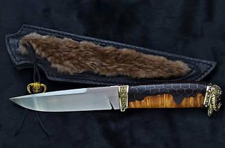 """Нож охотничий ручной работы """"Viking"""", M390, фото 2"""