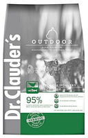 Dr.Clauder's High Premium Outdoor cухой корм для взрослых кошек, часто бывающих на улице