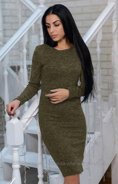 Женское платье ангора батал