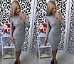 Женское платье ангора батал, фото 8