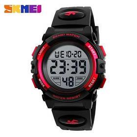 Часы мужские Skmei  1266 (Сквей)   Чоловічі Часи Годинник Черный  ГАРАНТИЯ